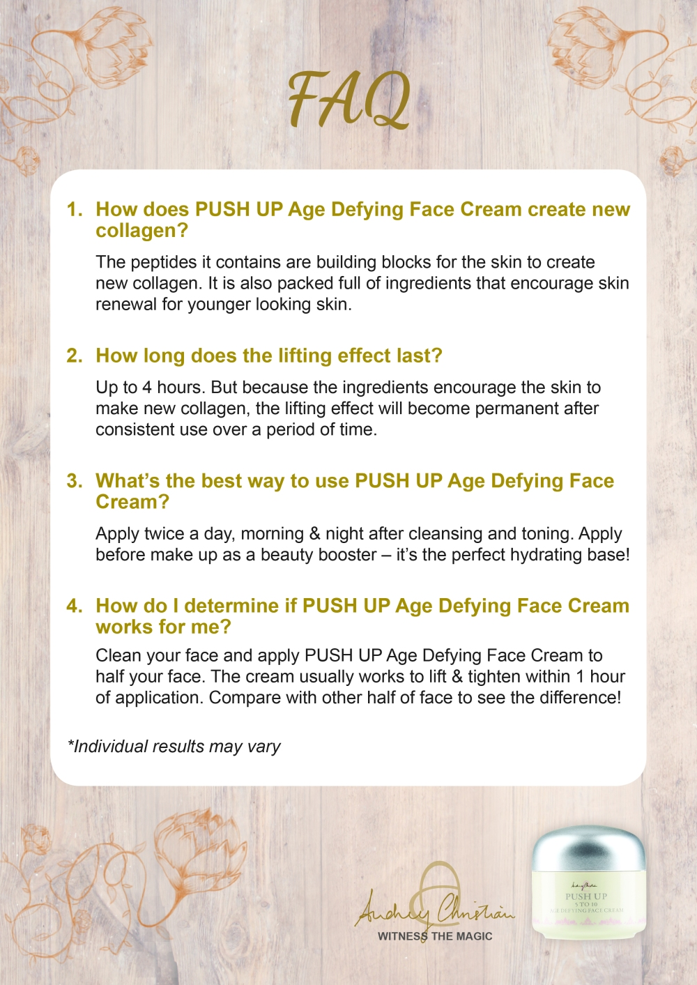 (HR) Face Cream_FAQ