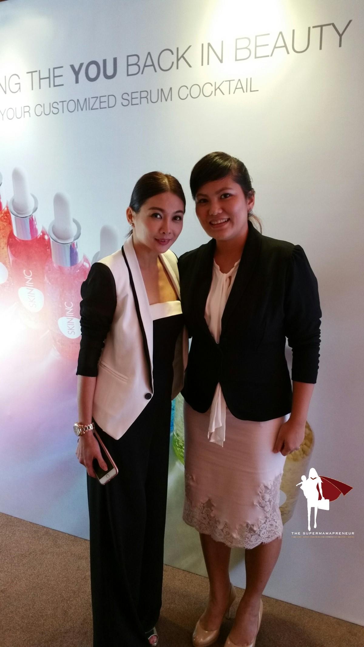 Supermamapreneur Sighting: Sabrina Tan, Skin IncGlobal