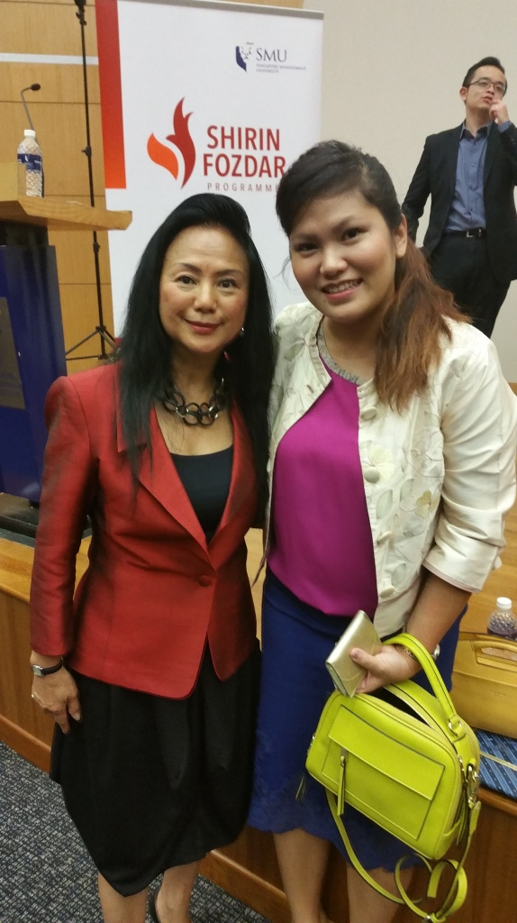Claire Chiang and Lise Chew