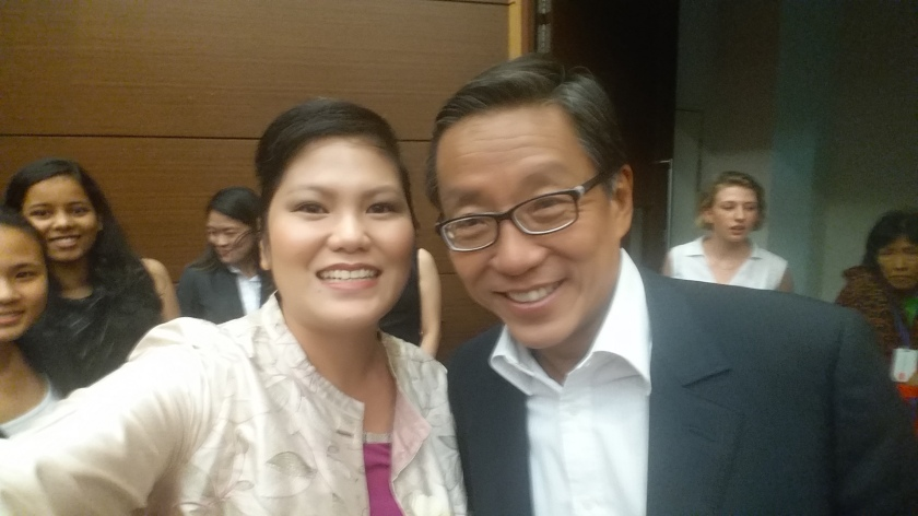 Lise Chew and Ho Kwon Ping