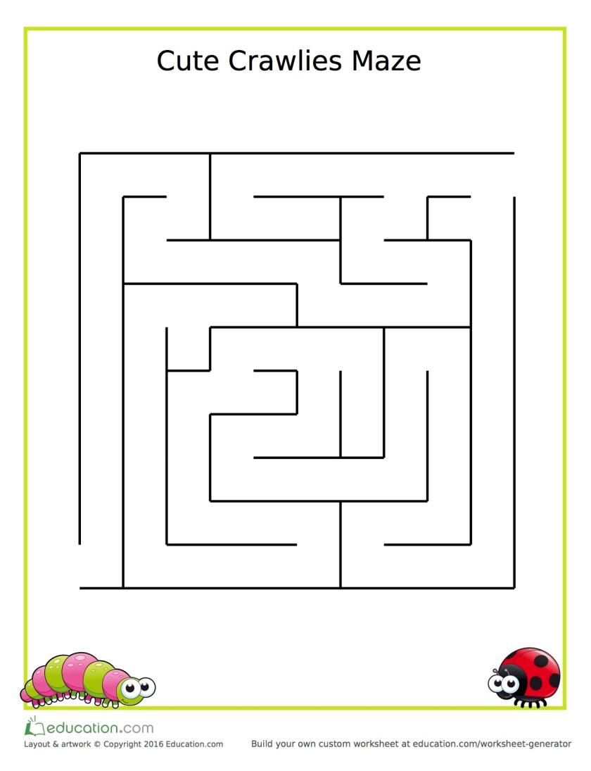 kindergarten_maze_crawlies